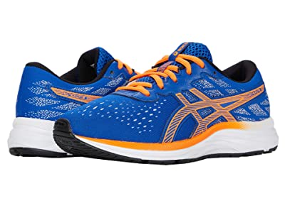 ASICS Kids GEL-Excite 7 (Little Kid/Big Kid) (Asics Blue/Shocking Orange) Boy