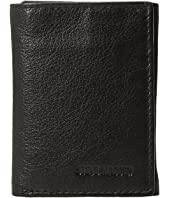 Steve Madden - Smooth Leather RFID Blocking Trifold Wallet