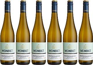 Weinbiet Manufaktur Eg Mußbacher Eselshaut Gewürztraminer Fruchtig Weißwein 6 X 0.75 L