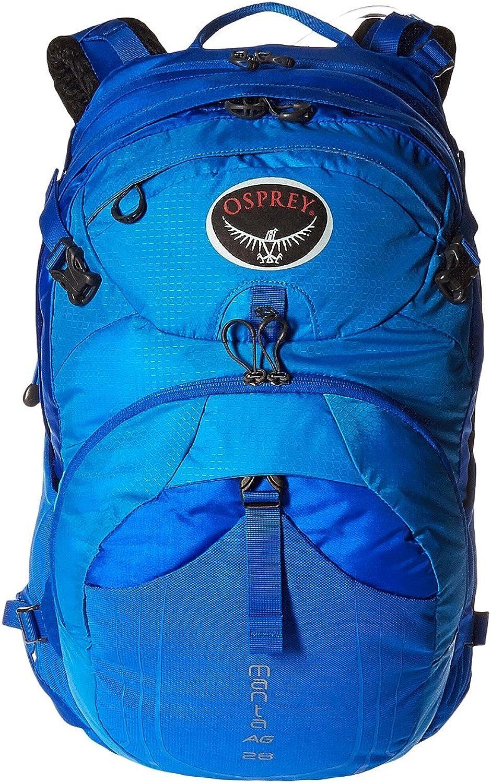 Osprey Packs Manta AG 28 Hydration Pack, Sonic blueee, Medium Large
