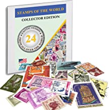 Zaioo Stamps The World ? 24 Stamps from All Over The World Collector Edition