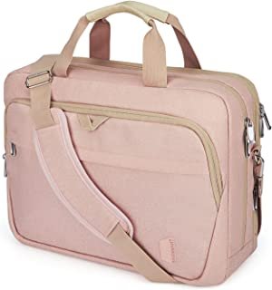 17.3 Inch Laptop Bag,BAGSMART Large Expandable Briefcase for Women Business Office Travel Computer Bag Shoulder Bag Water ...