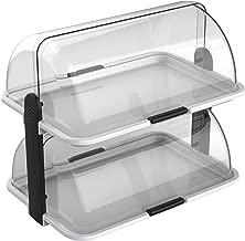 Cuisinox Double-Decker Countertop Bakery Display Case