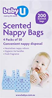 Baby U Scented Nappy Bags200 count