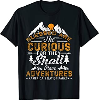 Best blessed are the curious t shirt Reviews