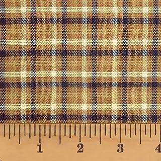Brown Plaid Tischdecke Braun Blau Geometric