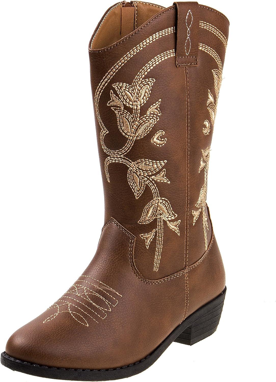 Kensie Girl Kids Western Cowboy Boot