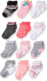 CHEROKEE Girls' 12 Pack Shorty Socks