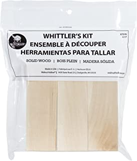 Walnut Hollow Pine Whittlers Carving Blocks, 3 Piece