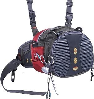 M MAXIMUMCATCH Maxcatch Fly Fishing Waist Bag Lightweight Waist Pack Line Nipper&Tippet Holder&Forceps