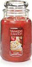 Yankee Candle Large Jar Scented Candle, Sugared Cinnamon Apple