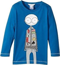 Little Marc Jacobs - Essential Long Sleeve T-Shirt (Toddler/Little Kids)