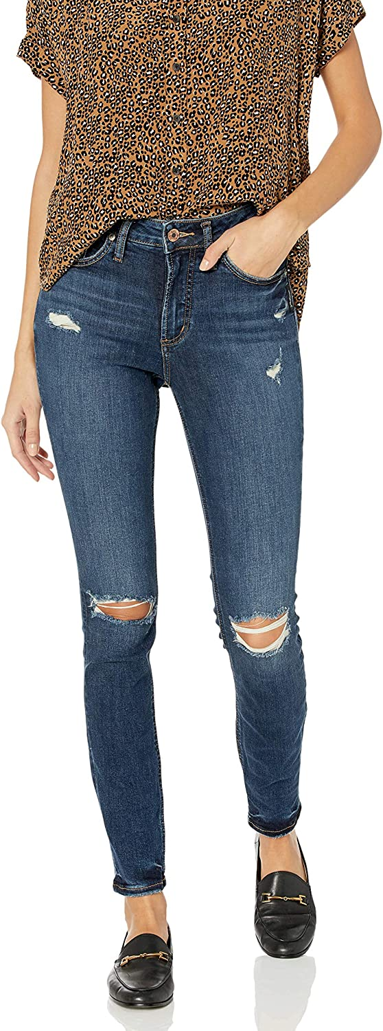 Popular product Silver overseas Jeans Co. Women's Avery Fit Rise Skinny Curvy High