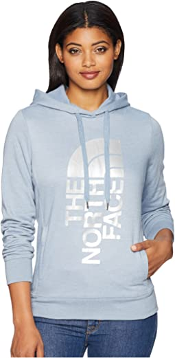 6afc1ded474 The north face trivert logo pullover hoodie patriot blue neon peach ...
