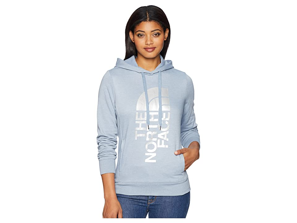 The North Face Trivert Pullover Hoodie (Gull Blue Heather/Silver Foil) Women