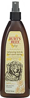 Burt's Bees for Dogs Care Plus+ All-Natural Relieving Shampoo, Spray, Conditioner Made with Chamomile and Rosemary | Cruelty Free, Sulfate & Paraben Free, pH Balanced for Dogs - Made in The USA