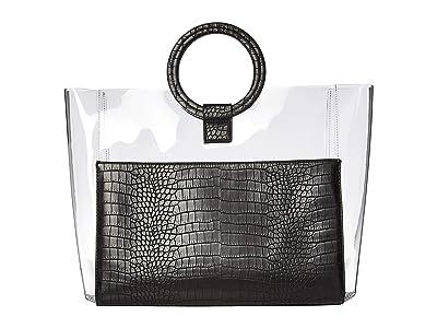 Vince Camuto Clea Tote (Black) Tote Handbags