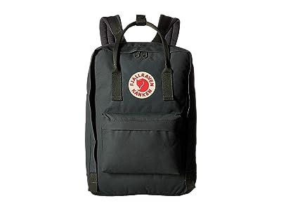 Fjallraven Kanken 15 (Forest Green) Backpack Bags