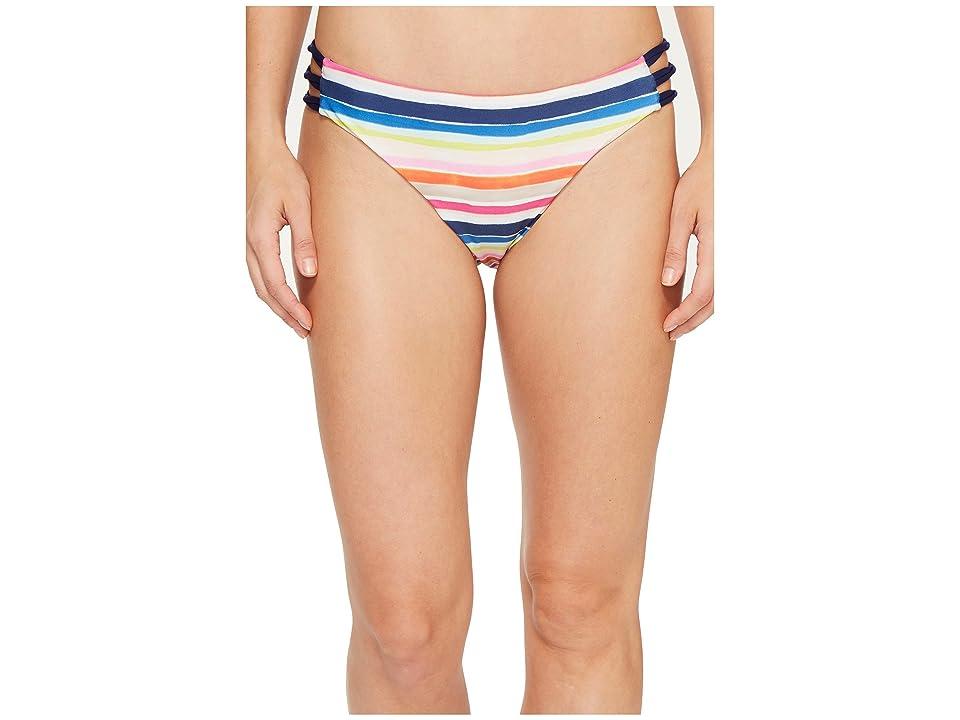 Splendid Watercolor Knot Side Bikini Bottom (Multi) Women