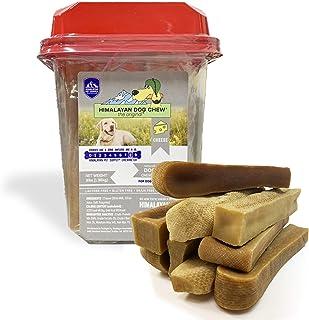 Himalayan Hard Cheese Dog Chews| Long Lasting-Stain...