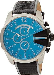 ساعة ميجا تشيف كرونوغراف للرجال من ديزل - طراز DZ4523 - رمادي