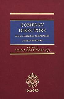 Company Directors: Duties, Liabilities, and Remedies