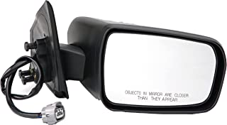 Dorman 955-1788 Passenger Side Power Door Mirror - Heated / Folding for Select Mitsubishi Models, Black