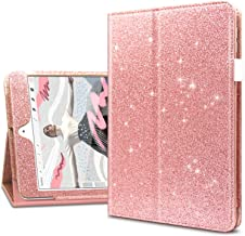 Dailylux iPad Mini 5 Case,iPad Mini 4 Case,Glitter PU Leather Folio Stand Smart Cover Stylus Holder Auto Sleep/Wake Bling ...