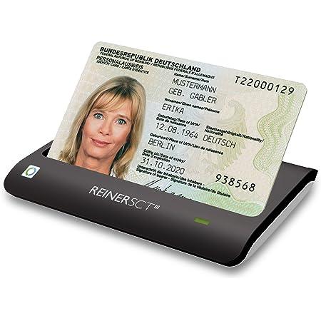 REINER SCT cyberJack RFID Chip-Kartenleser basis | Für den neuen Personalausweis (nPA)