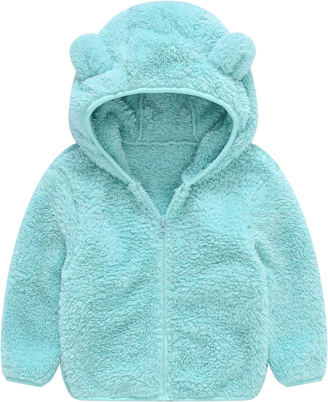 Toddler Boys Girls Fleece Hoodie Cute Fal Snowsuit Ear Warm Max 87% Nashville-Davidson Mall OFF Bear