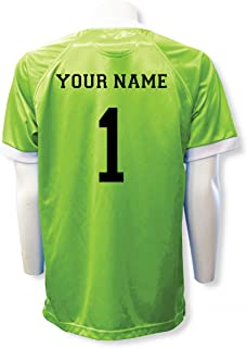 7411862ef Short Sleeve Goalie Jersey Personalized with Your Name and Number (with  free keeper pin)