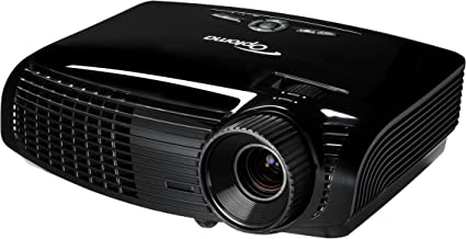 Optoma HD131Xe 1080p 2500 Lumen Full 3D DLP Home Theater Projector with HDMI (Black) (2013 Model)