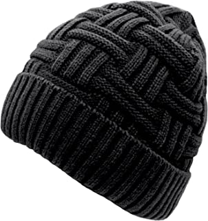 Loritta Winter Hat Warm Knitted Wool Thick Baggy Slouchy Beanie Skull Cap for Men Women Gifts