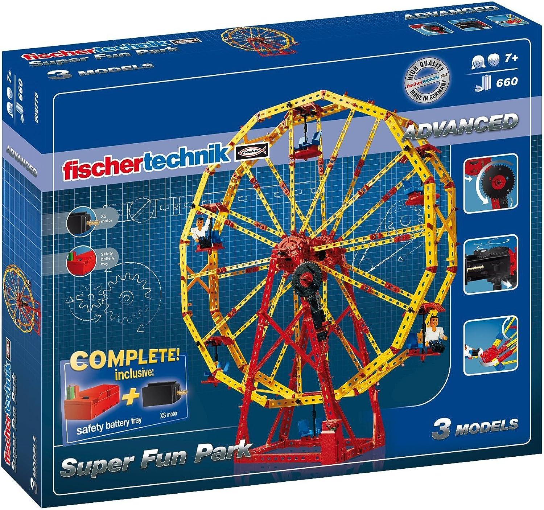 Fischertechnik - 508775 ADVANCED Super Fun Park, Konstruktionsbaukasten