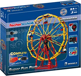 Fischertechnik 慧鱼创意组合模型玩具游乐园组合套装