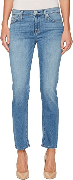 Hudson Tally Mid-Rise Skinny Crop in State of Mind