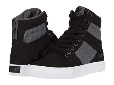 Supra Aluminum (Black/Dark Grey/White) Men