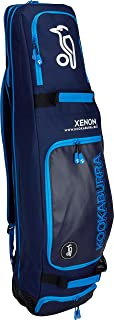 Best Soccer Buys Field Hockey Bag Luggage Xenon by Kookaburra (Navy & Cyan)