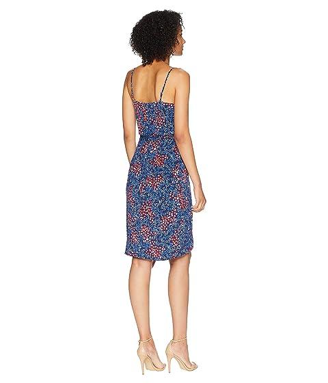 mosaico Azulejo Wrap Dress CeCe mangas Scape sin de Ditsy Corinne zBWUUA58wt
