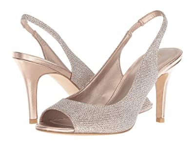 Pelle Moda Rocia (Platinum Gold Metallic Textile) Women