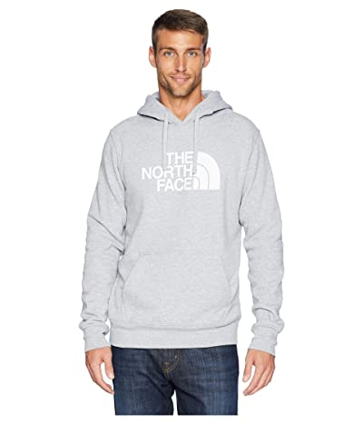 The North Face Half Dome Pullover Hoodie (TNF Light Grey Heather/TNF White) Men
