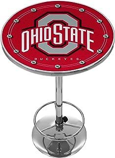 NCAA Ohio State University Chrome Pub Table