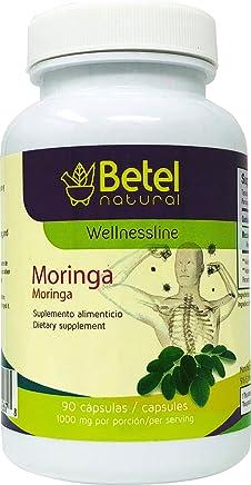 Moringa Capsules by Betel Natural - Amazing Antioxidant Properties - 90 Capsules