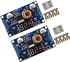 [2-Pack] 5a 75w Buck Converter 4-38V to 1.25-36V DC to DC Step-Down Adjustable Voltage Regulator Module 36V 24V 12V to 5V 2A Voltage Stabilizer with LED Display