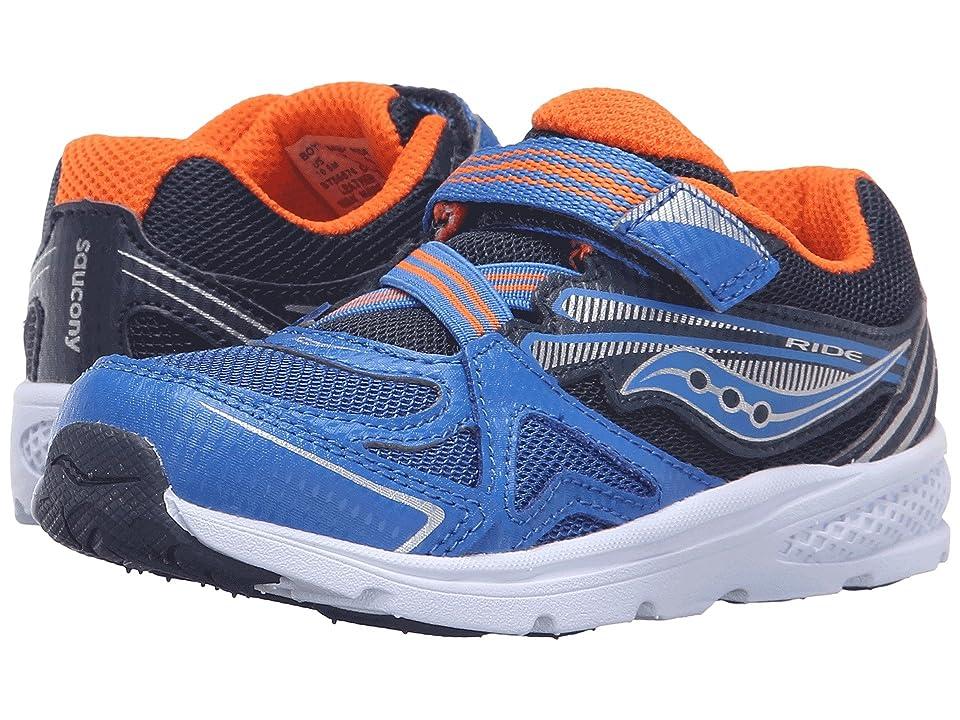 Saucony Kids Ride (Toddler/Little Kid) (Blue/Orange) Boys Shoes