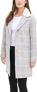 Women's Wool Blend Sherpa Collar Top Coat