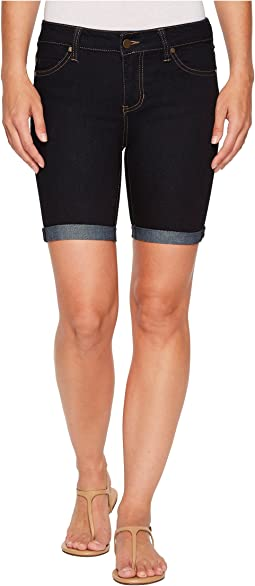 Nancy Shorts Rolled in Indigo Rinse