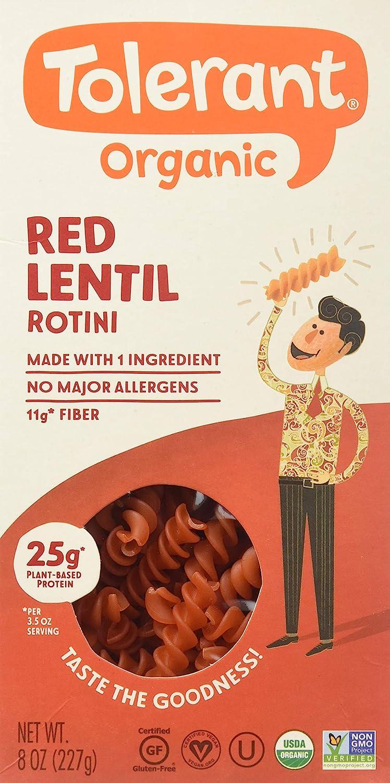 New Free Shipping Tolerant Simply Washington Mall Legumes Organic Red Lentil oz Pasta 8 Pa Rotini