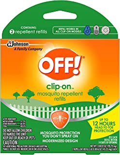 OFF! Clip-On Refills, 2 Count Refill (Pack - 1)