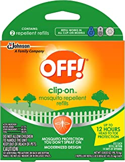 OFF! Clip On Refills, 2 CT (Pack - 4)